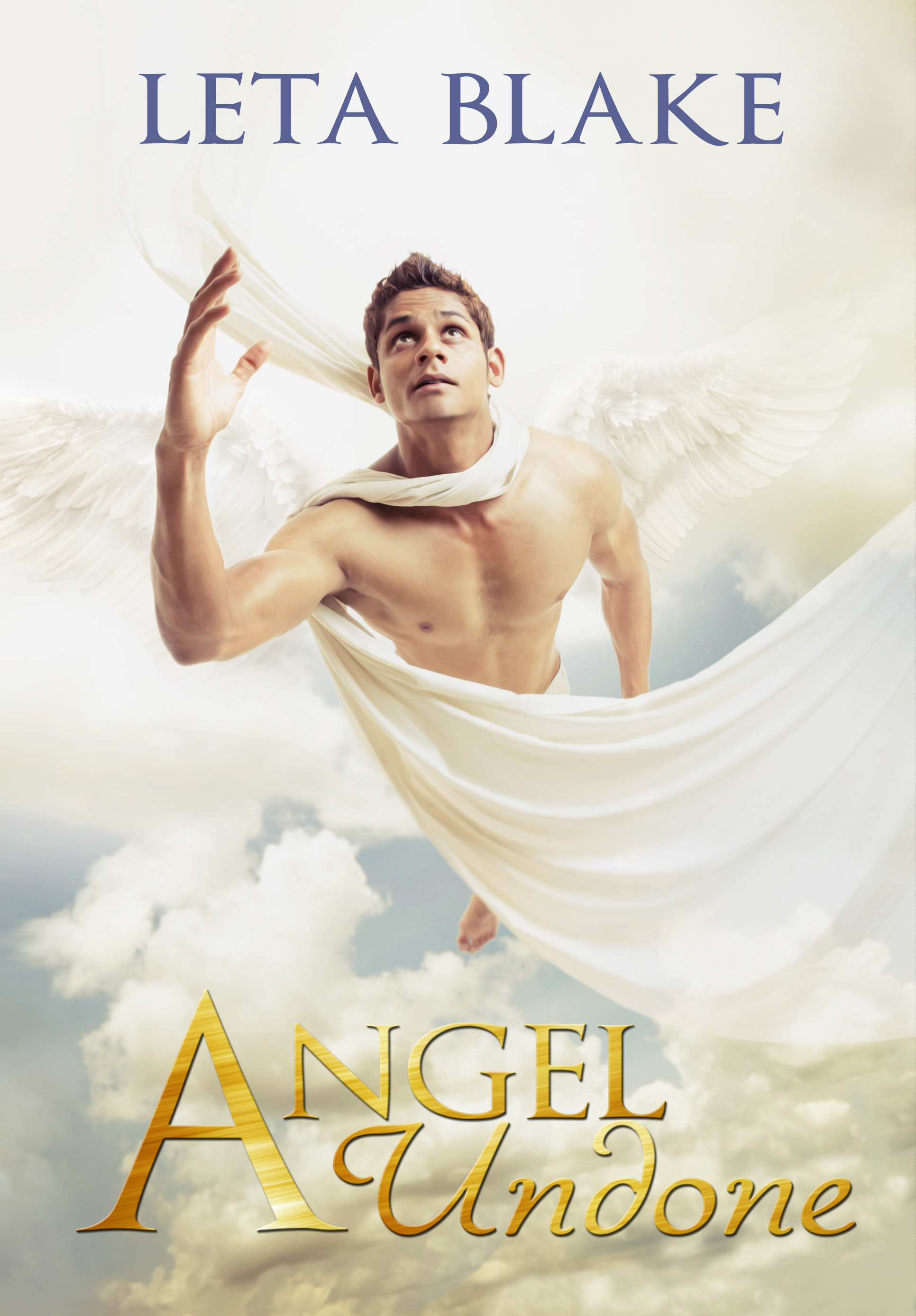 Cover - Angel Undone by Leta Blake