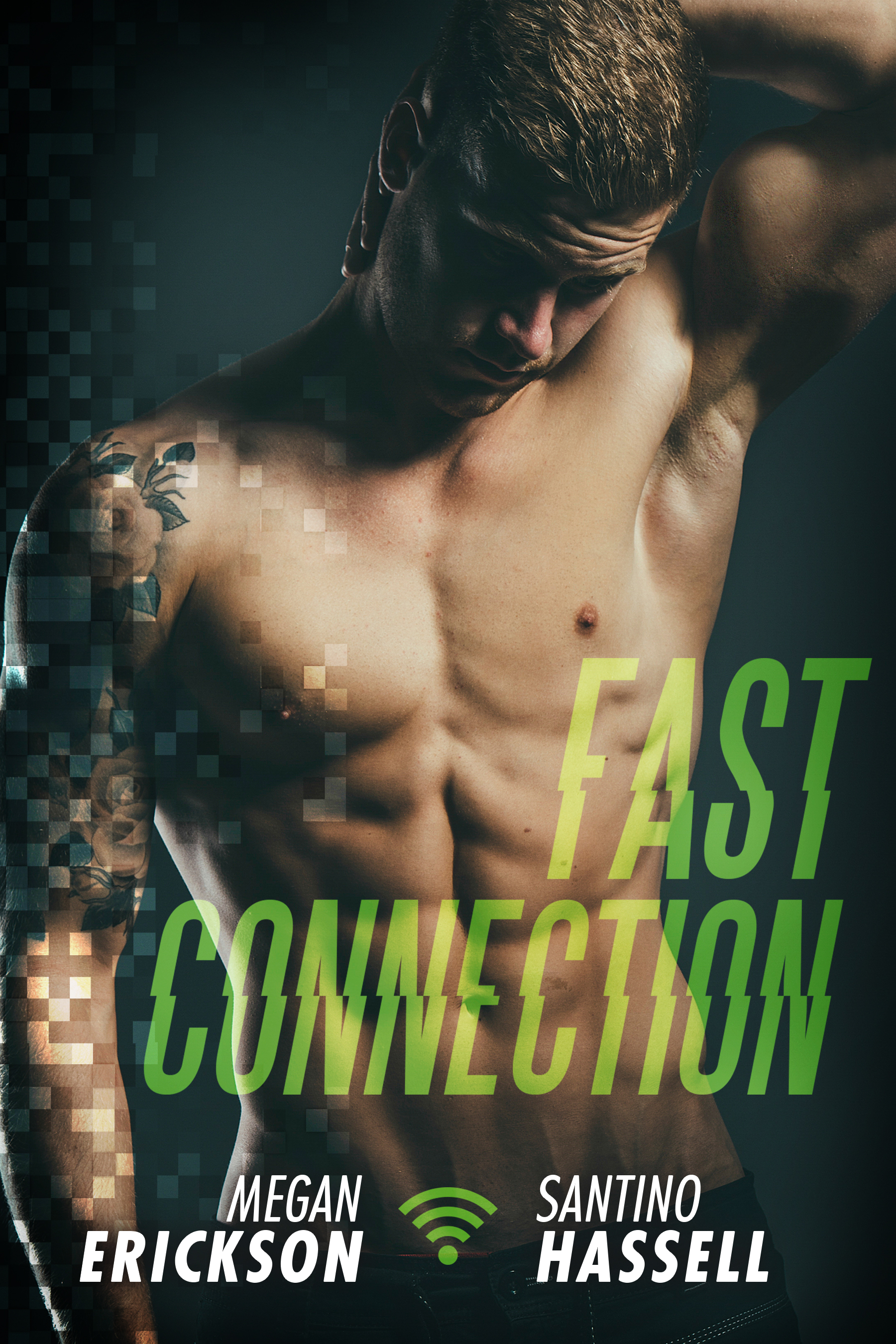 Cover - Fast Connection by Megan Erickson and Santino Hassell