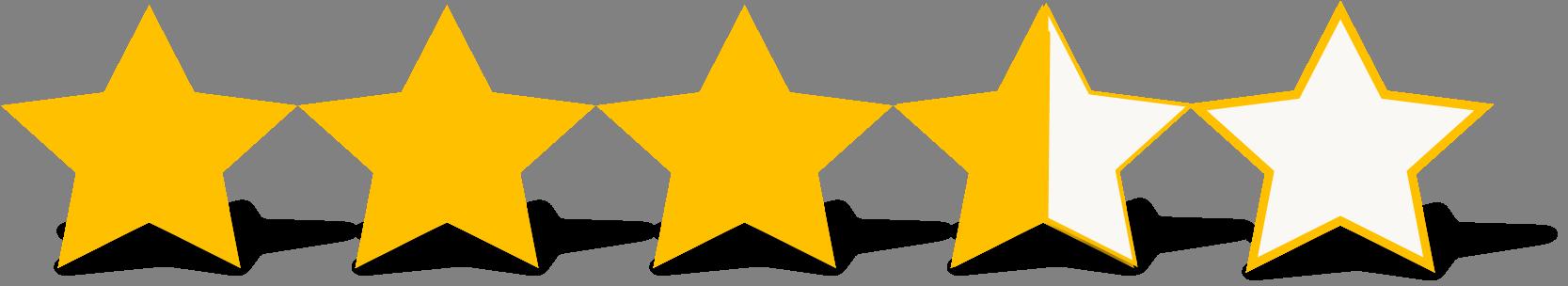 Rating 3.5 Stars