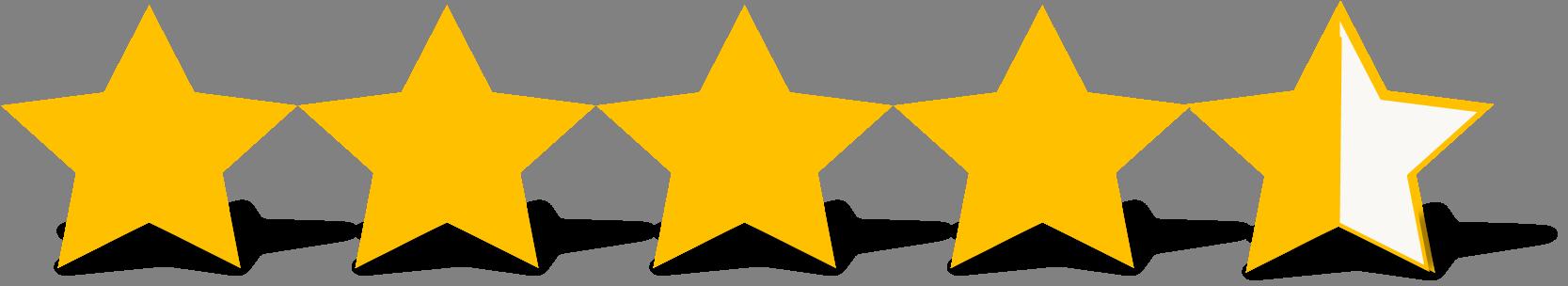 Rating 4.5 Stars